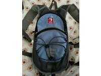 Water rucksack. Used once