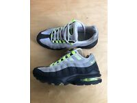 Nike Air Max 95 Neon Green, UK Size 5.5