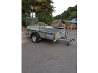 Ifor Williams GD84 General Purpose Trailer With Ramp And Loading Legs NO VAT