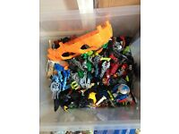 Lego bionicles bundle, my sons that he does not play with anymore, what you see is what you get