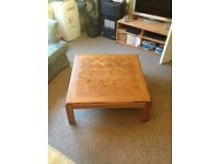"Large Coffee Table (W 3'xD 3'xH 1'3"")"