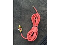 Propane gas torch hose roofer