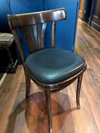 Fan back bentwood style like side chairs (Upholstered),various quality. Ideal for cafe/ bar/bistro.