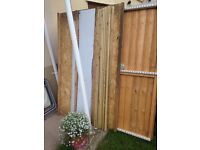 6 x 4 apex wooden shed double doors