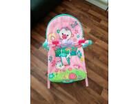 Girls baby bouncer / rocking chair