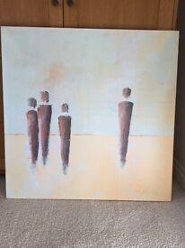 Large Canvas (90cm x 90cm), Desert Horizon by Iles Kollar.