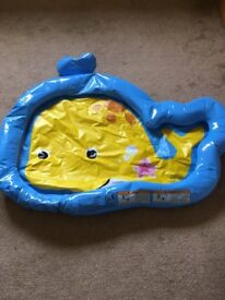 Baby pool and plastic pool/ sand pit