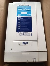 Bargain. Baxi boiler and accessories