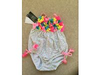 Pumpkin Patch spotty swimsuit BRAND NEW - 12-18months