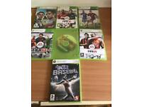 Hello, I have for sale Xbox 360 games