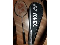 100% Genuine Yonex Nanoray 900 Badminton Racquet - Hendra Setiawan - head light