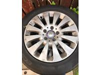 "Genuine Mercedes 16"" wheels"