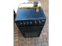 Tidy. 50cm. All. Black. Halogen. Cooker