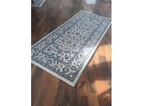 Ikea VALLÖBY rug white persian style