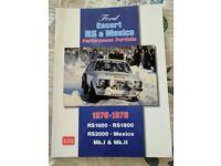 Ford Escort RS & Mexico Performance Portfolio