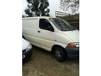 2002 Toyota HI-ACE 2.5 D4D MANUAL PANEL VAN, NO MOT, IDEAL FOR EXPORT