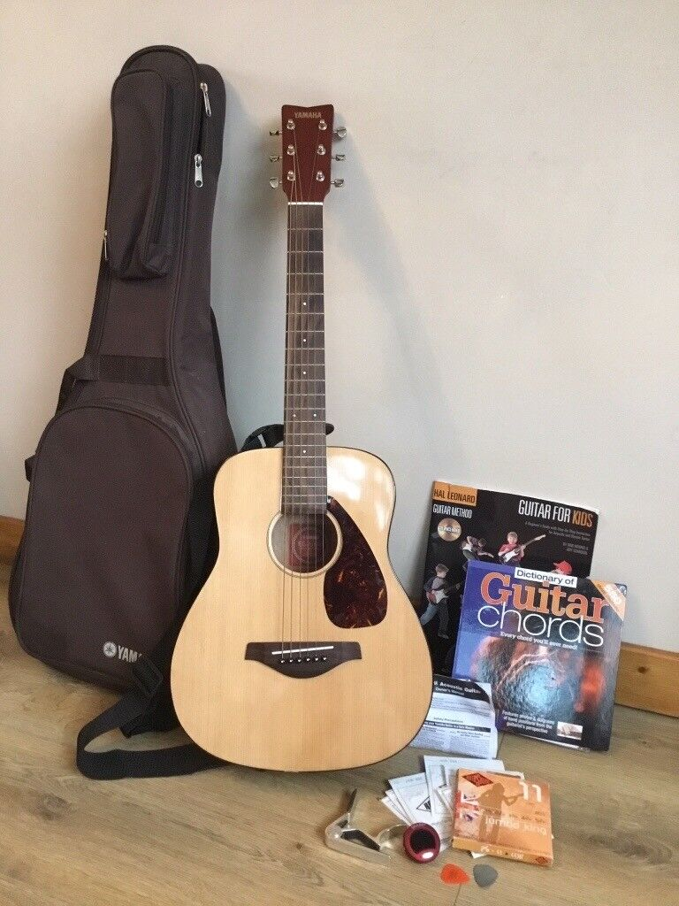 Guitar: Yamaha JR2 (3/4) Accoustic Natural, with case & lots of extras! |  in Norwich, Norfolk | Gumtree