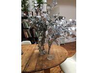 Gorgeous silver eucalyptus decoration