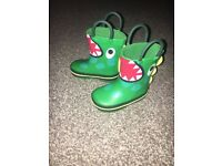 Toddler wellie boots