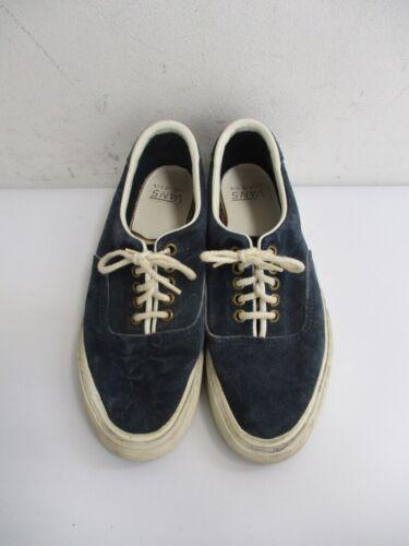 Vintage 1970s/80s VAN DOREN Vans Blue Suede Low Sneakers USA MADE Size 6.5