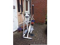 Cross Trainer Machine- Gymm