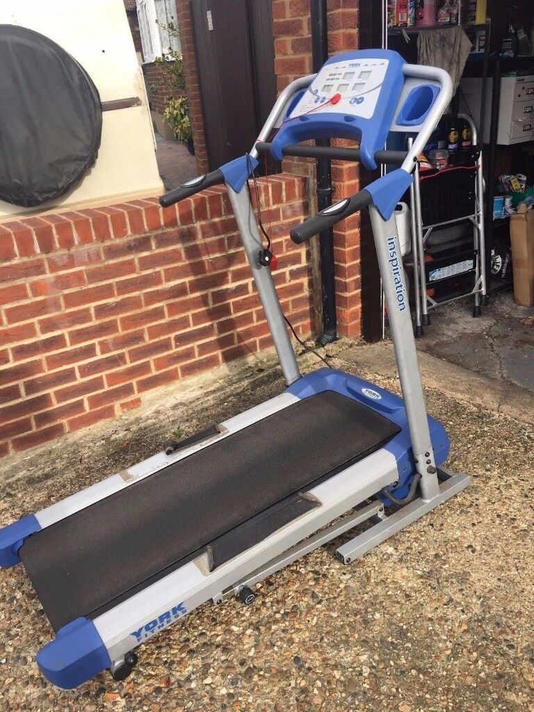 York TREADMILL Incline Electric Motorised Folding Running Cardio Fitness Machine