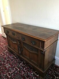 Vintage Sideboard Solid Oak Early 20th Century - pick up ony