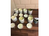 8 x green paint testers