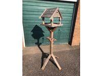 Wooden Bird feeder for garden