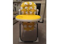 Cosato Noodle Supa High Chair for sale - £30