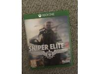 Sniper elite 4 Xbox one £25ono