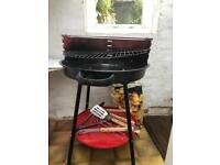 BBQ trolley and cool box