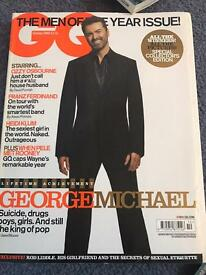 GQ October 2004 Issue- George Micheal