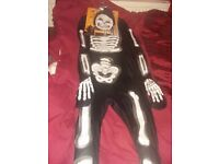 New Male large skeleton outfit