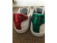 Gucci Ace Bee Trainers - UK9