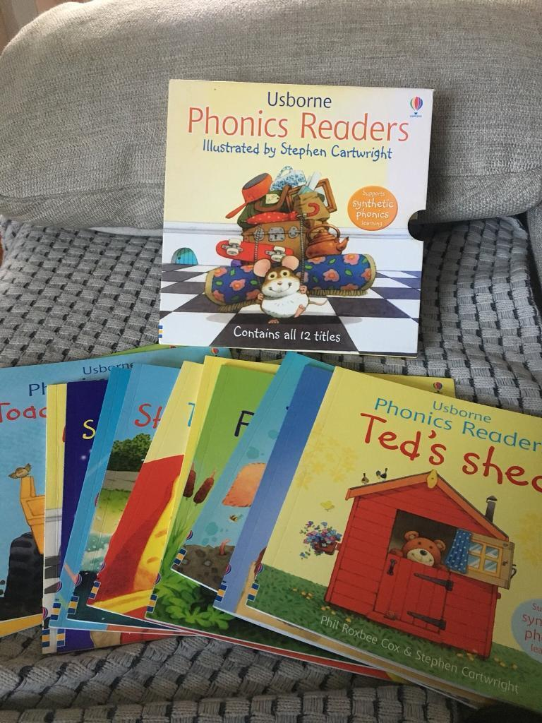 COMPLETE SET OF USBORNE PHONICS READERS 12 BOOKS IN PRESENTATION BOX | in  Bramley, South Yorkshire | Gumtree