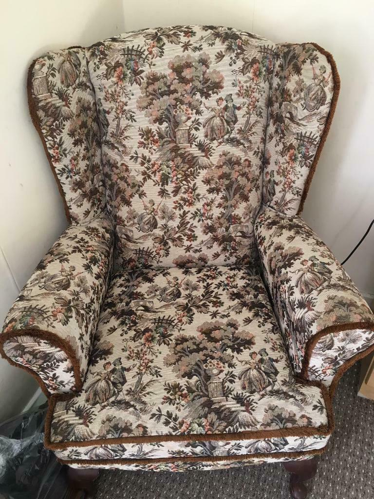 Incredible Armchair High Seat Back Chair In Clapham London Gumtree Caraccident5 Cool Chair Designs And Ideas Caraccident5Info