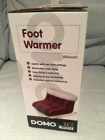 Heated Foot Warmer - NEW and UNUSED, still in box