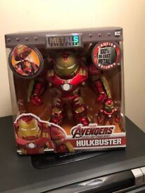 Metal avengers hulkbuster figure by marvel *brand new*