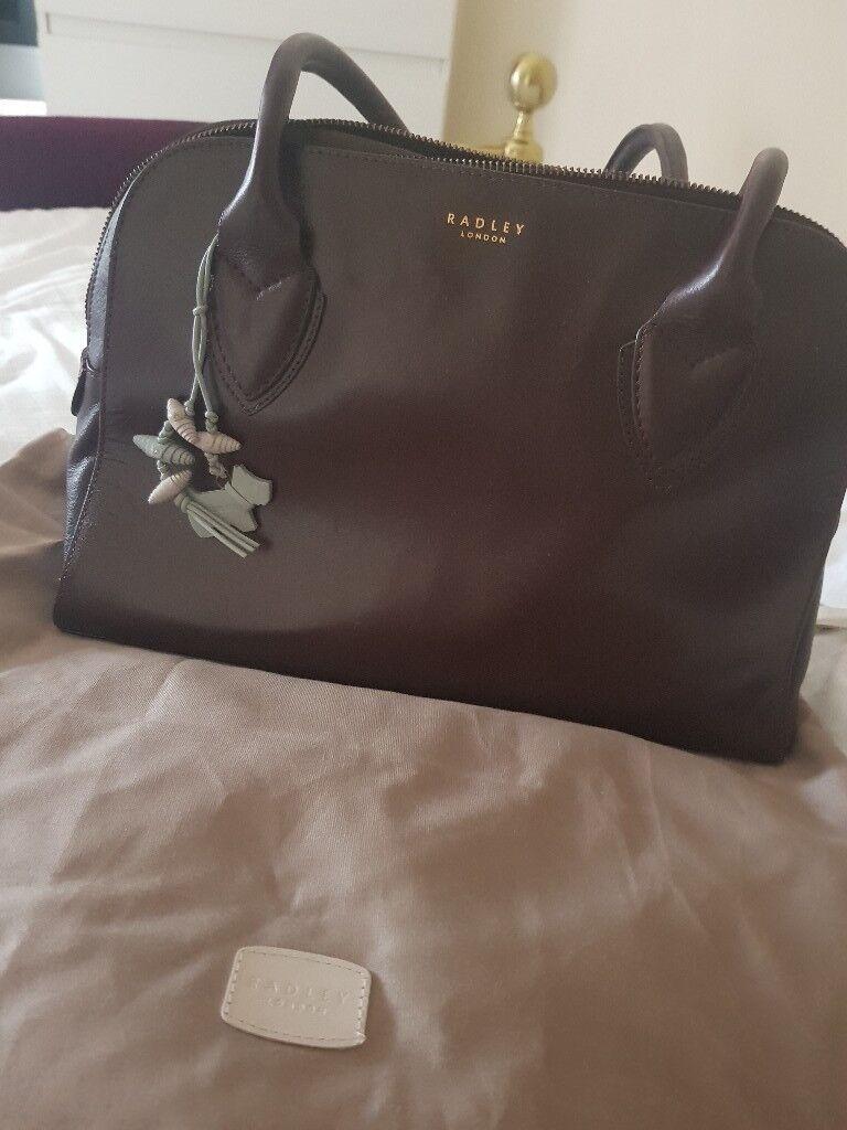 Radley Brown Leather Bag   in Bury St Edmunds, Suffolk   Gumtree db511fcc8d