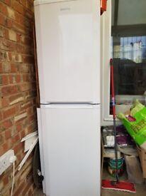 Beko 50/50 splilt fridge and freezer 1 year old