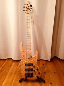 GB Spitfire 5 String Bass Guitar