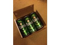 12 pack of Carlsberg