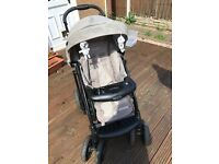 Graco Travel System inc carry cot, car seat and base for car