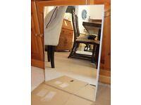 Single Mirrored Door Bathroom cabinet (64 cm h x 45 cm w x 10cm d)