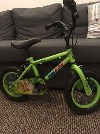 """Kids Apollo 12"""" Marvin the Monkey bike"""