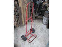 Small gas bottle trolley sack barrow