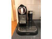 Nespresso Magimix CitiZ & Milk Limousine Black Coffee Machine