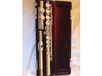 Flute Jupiter brand lovely instrument with box, bag, music , stand