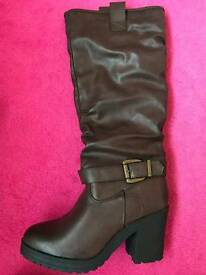 Brown Boots - Size 6